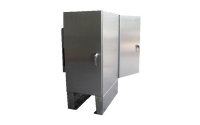 NEMA 4X two sides doors enclosure